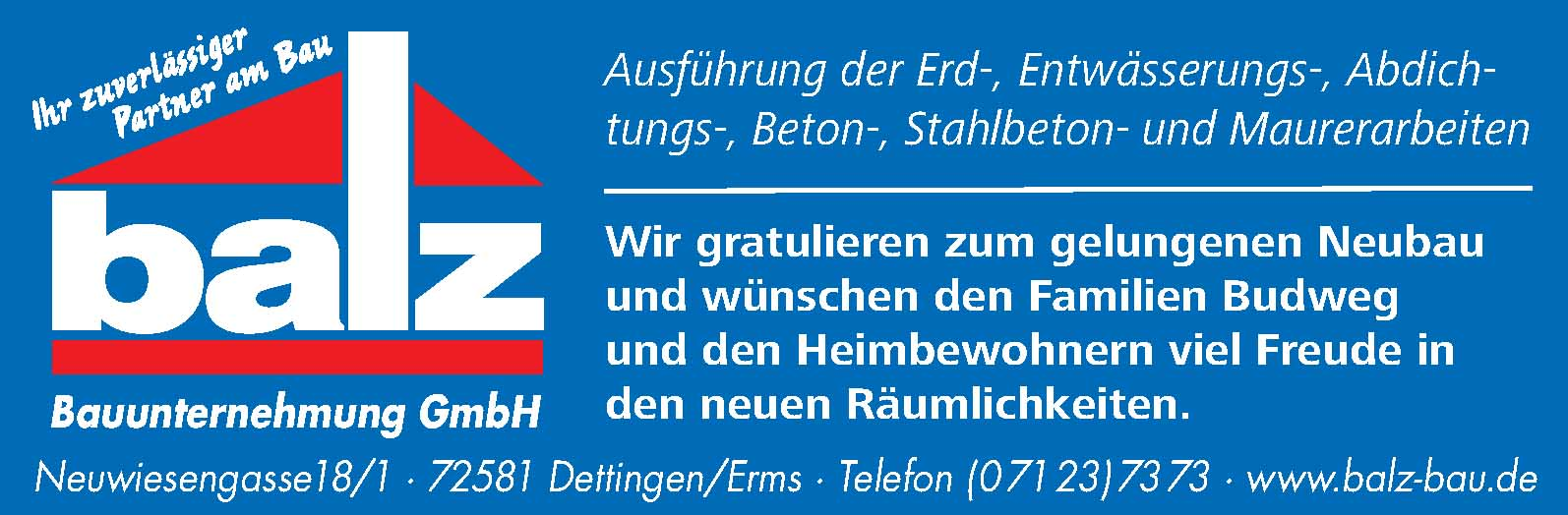 Balz Bauunternehmung GmbH