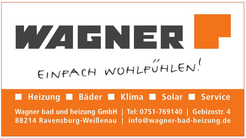 Wagner bad und heizung GmbH