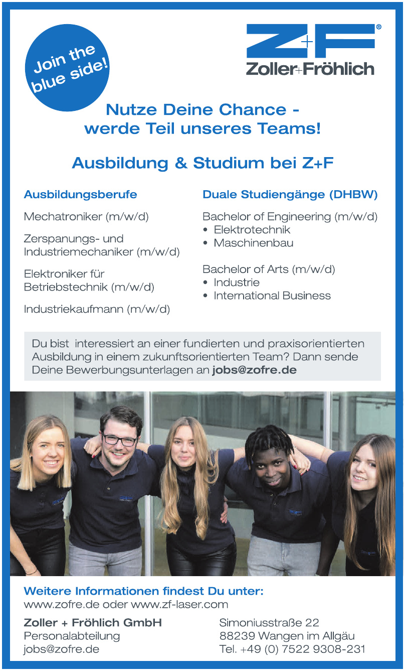 Zoller + Fröhlich GmbH