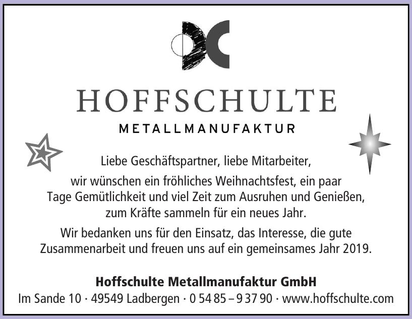 Hoffschulte Metallmanufaktur GmbH