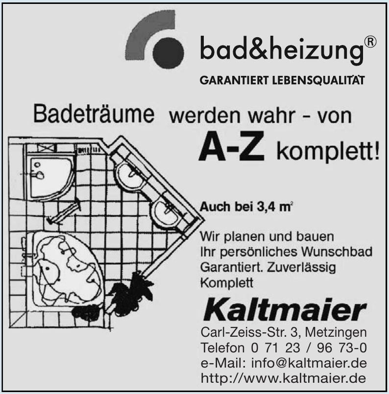Bad & Heizung Kaltmaier GmbH