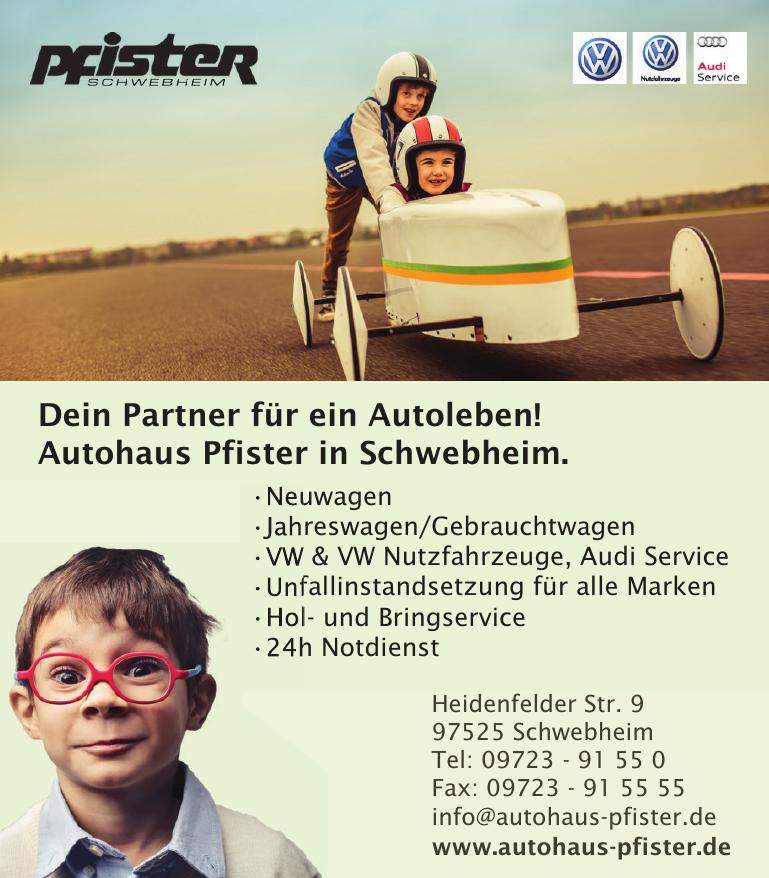 Pfister - Das Autohaus
