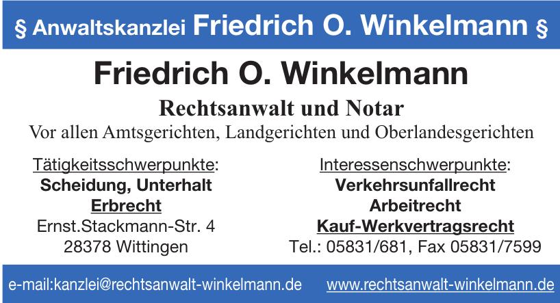 Anwaltskanzlei Friedrich O. Winkelmann