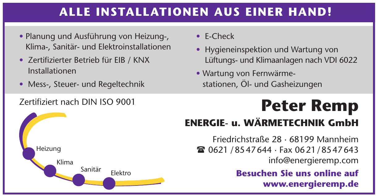 Peter Remp Energie- u. Wärmetechnik GmbH