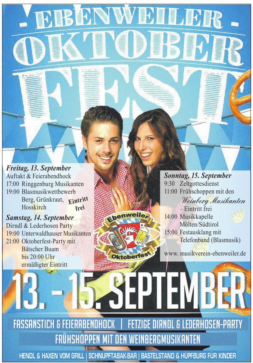 Ebenweiler-Oktoberfest