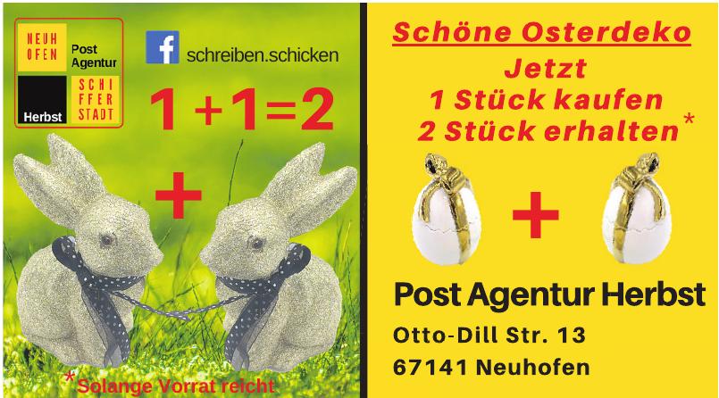 Post Agentur Herbst