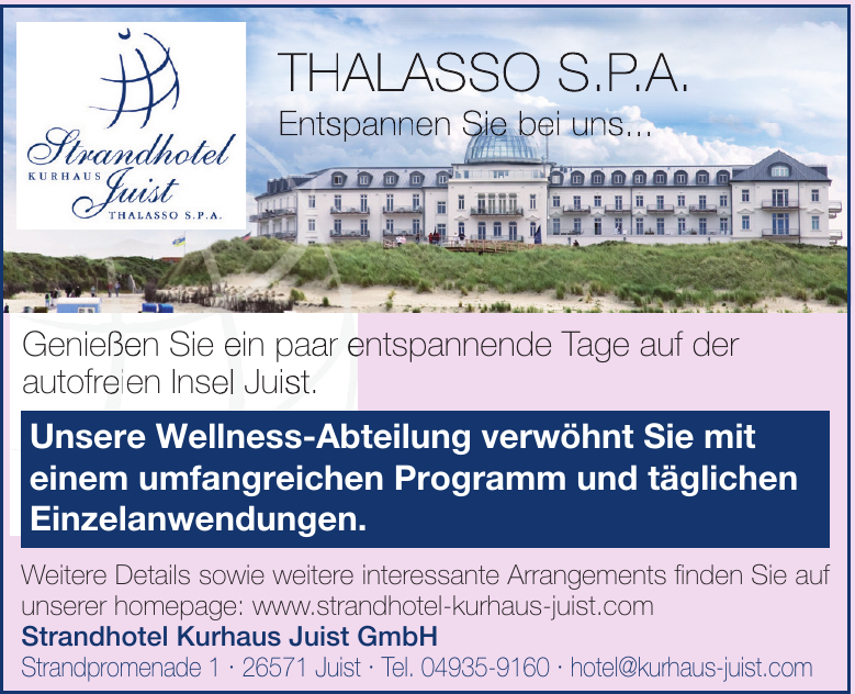 Strandhotel Kurhaus Juist GmbH
