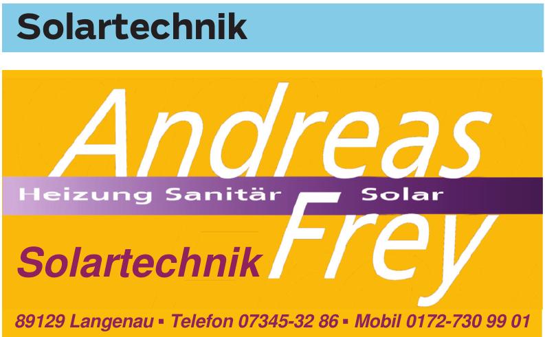 Andreas Frey Solartechnik