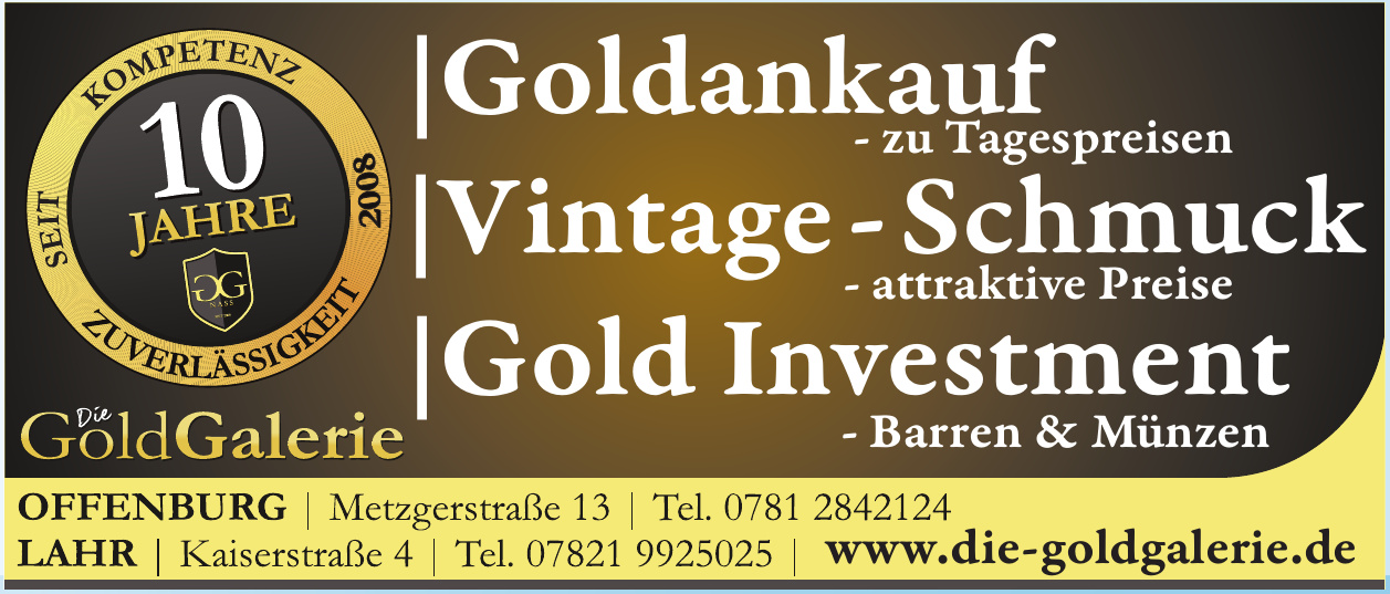 Die Gold Galerie