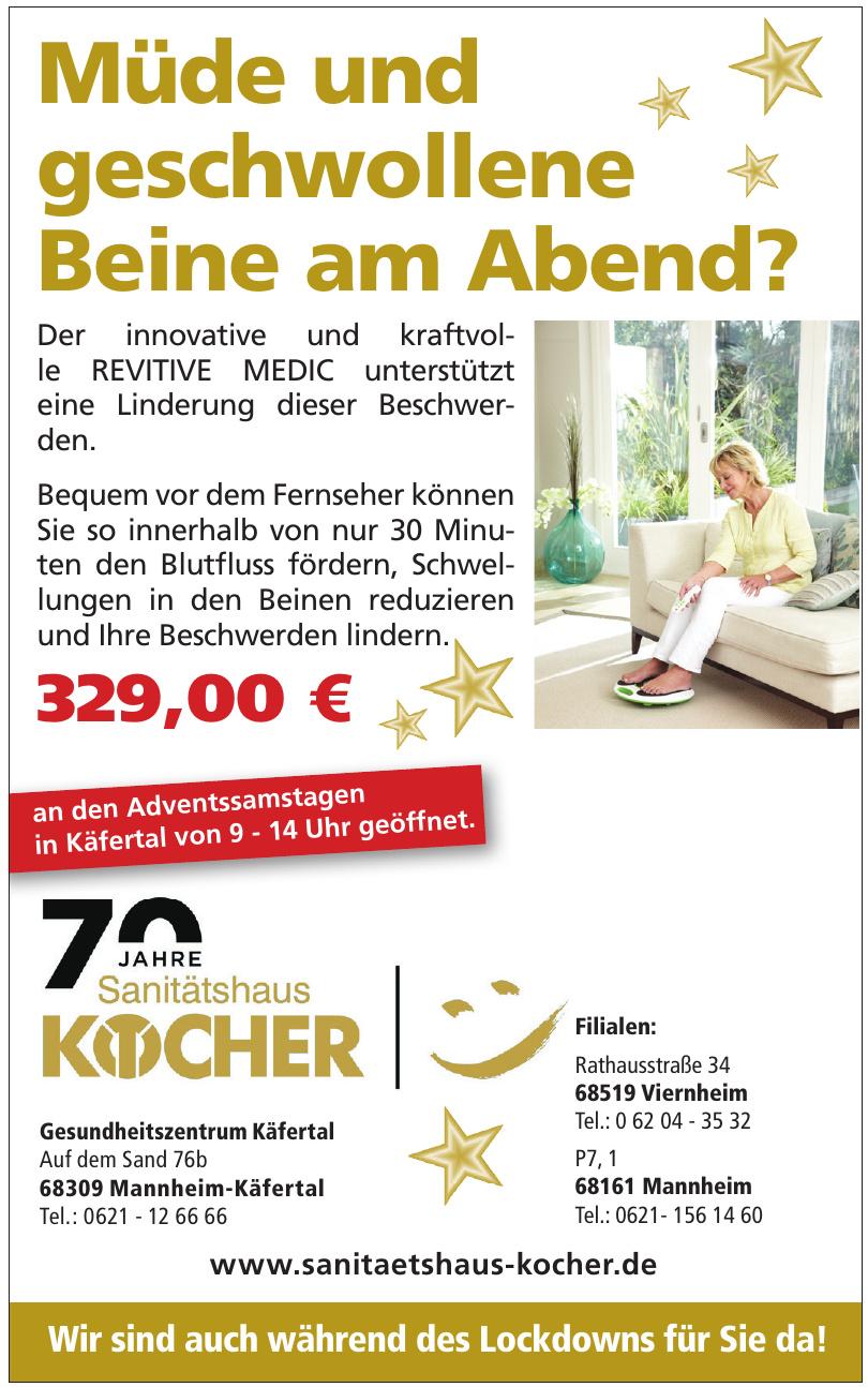 Sanitäthaus Kocher - Filiale Mannheim