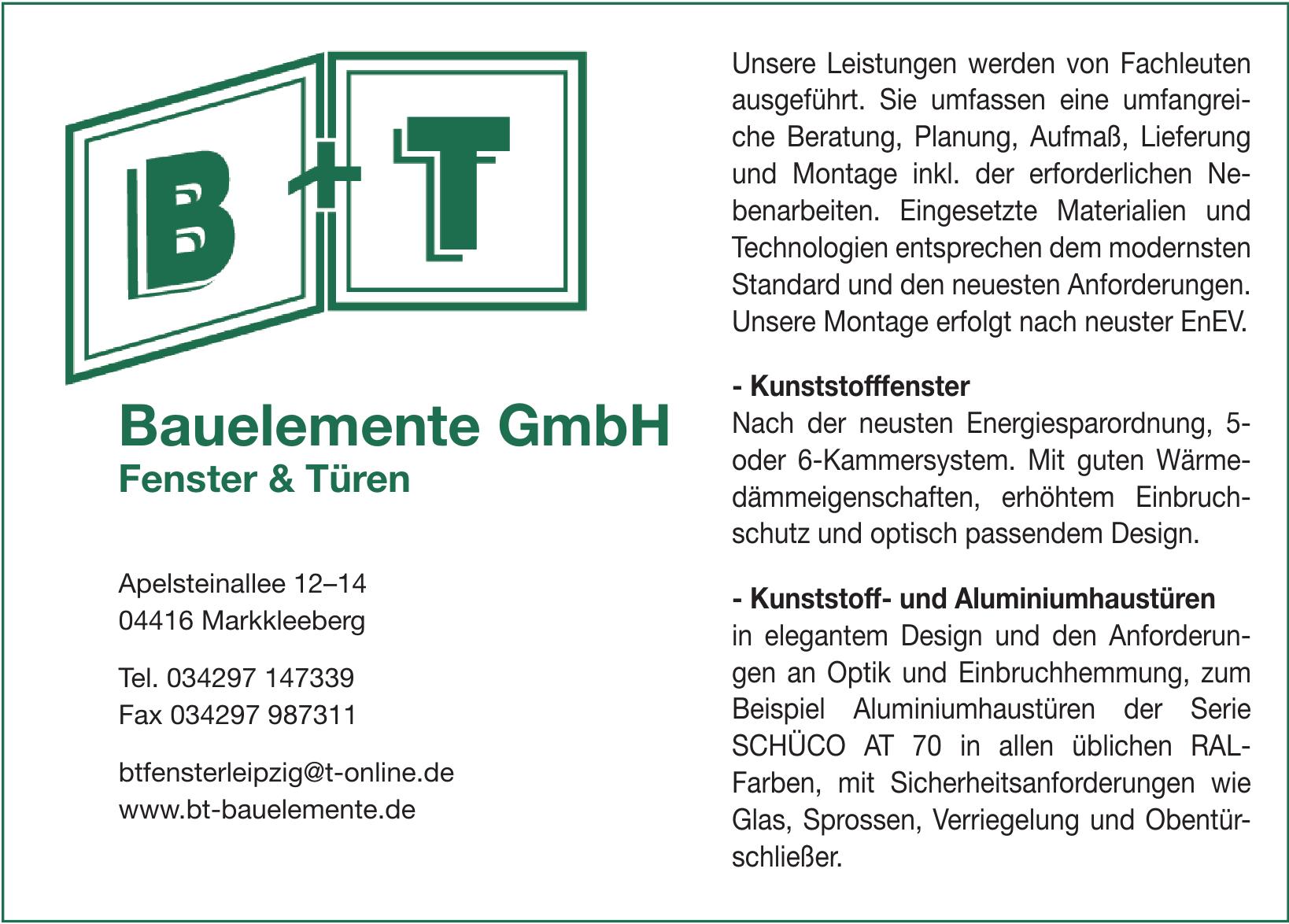 B+T Bauelemente GmbH