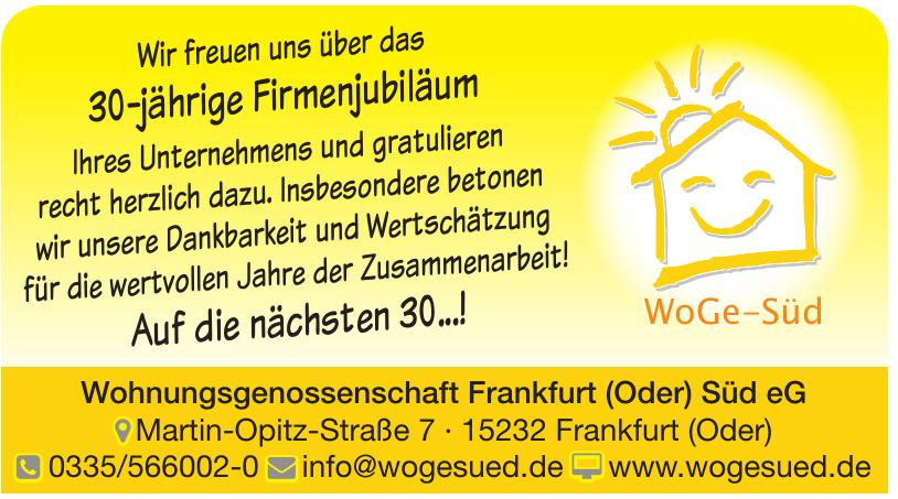 Wohnungsgenossenschaft Frankfurt (Oder) Süd eG