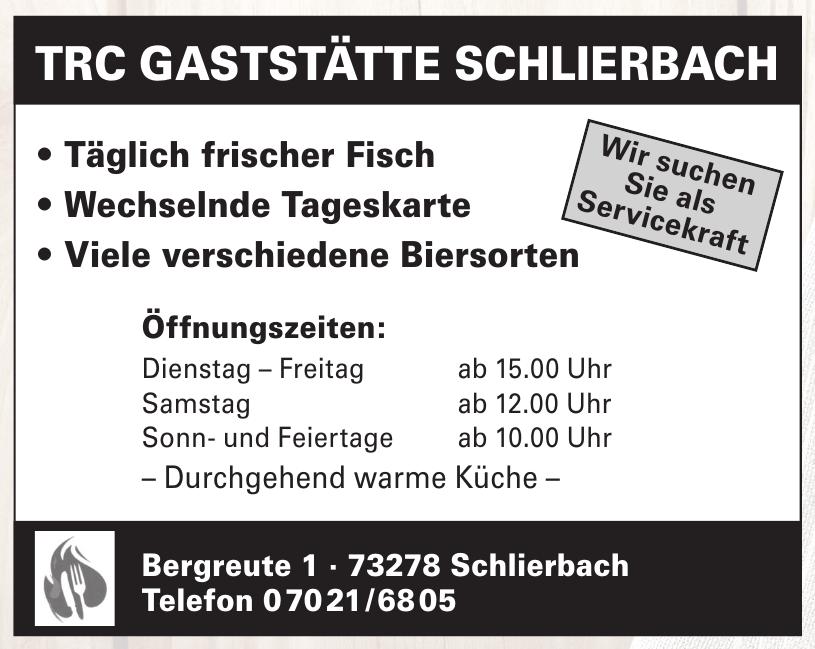 TRC Gaststätte Schlierbach