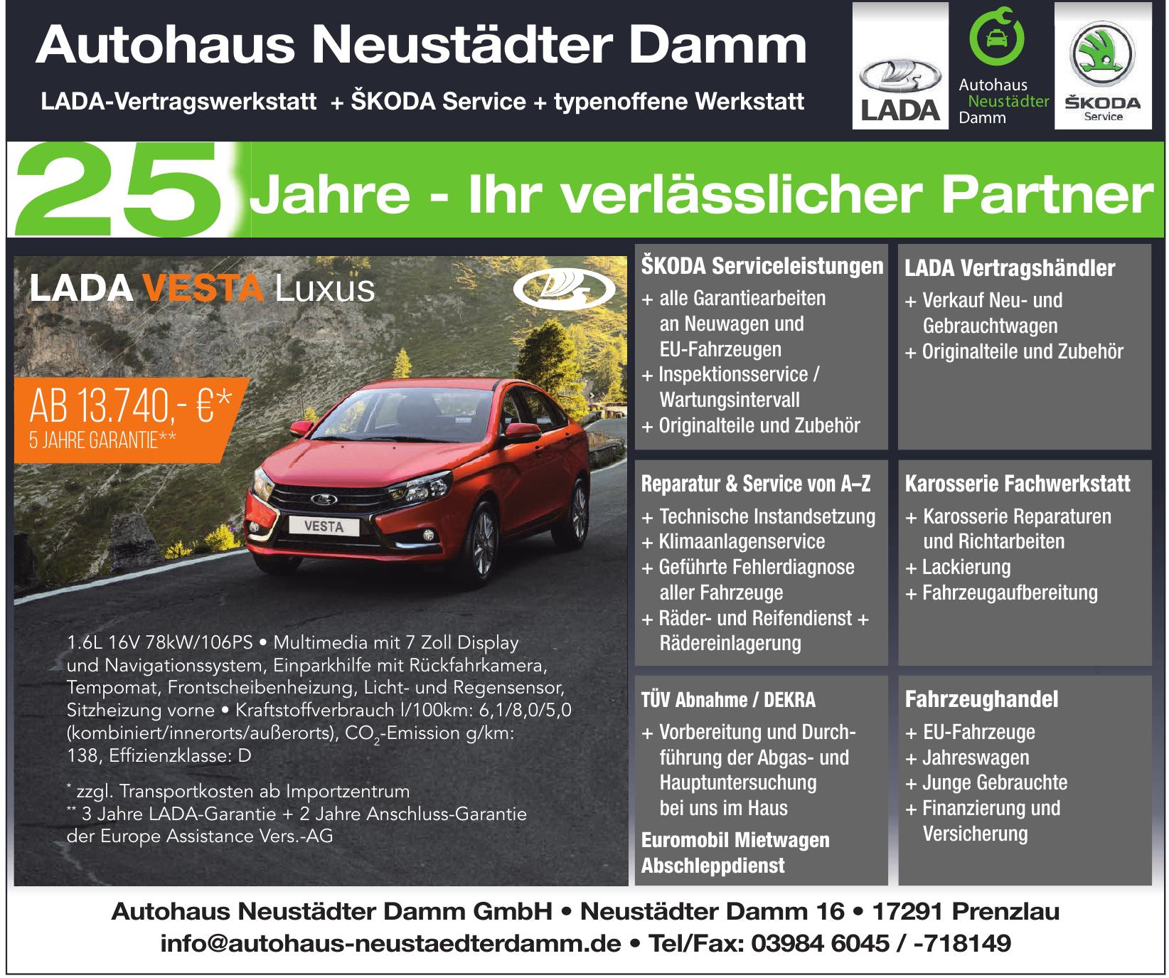Autohaus Neustädter Damm GmbH