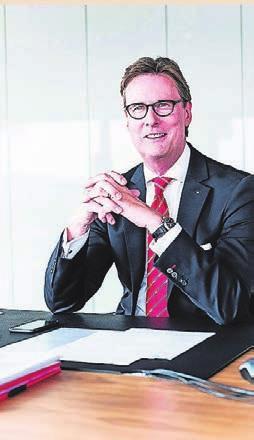 Gunther Wölfges ist Vorsitzender des Vorstandes der Stadtsparkasse Wuppertal.