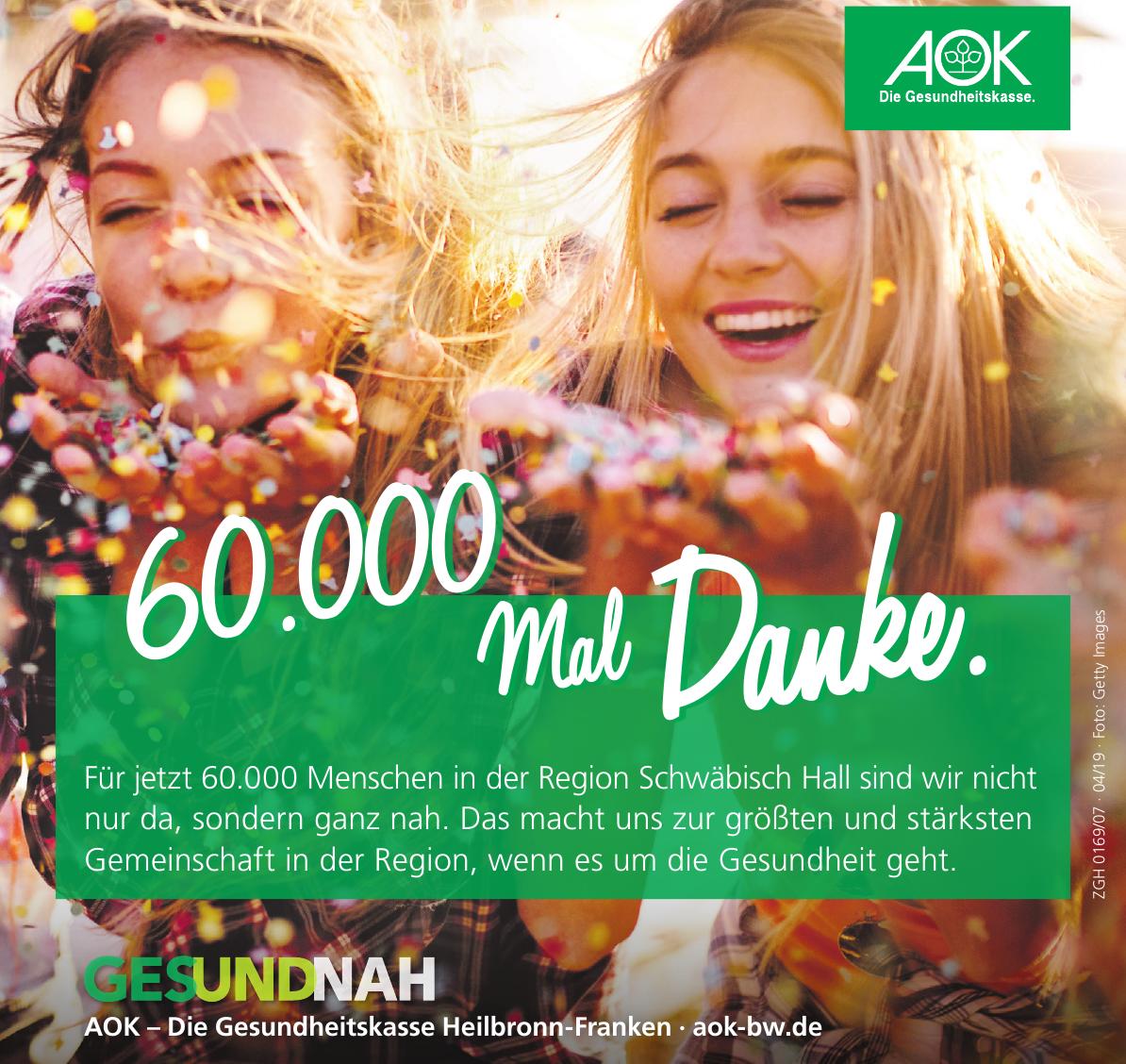 AOK – Die Gesundheitskasse Heilbronn-Franken