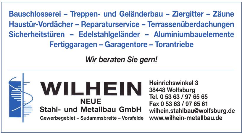 Wilhein Stahl- und Metallbau GmbH