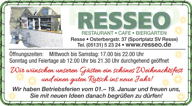 Resseo Restaurant