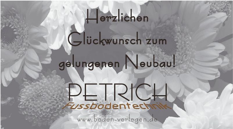 Petrich Fussbodentechnik