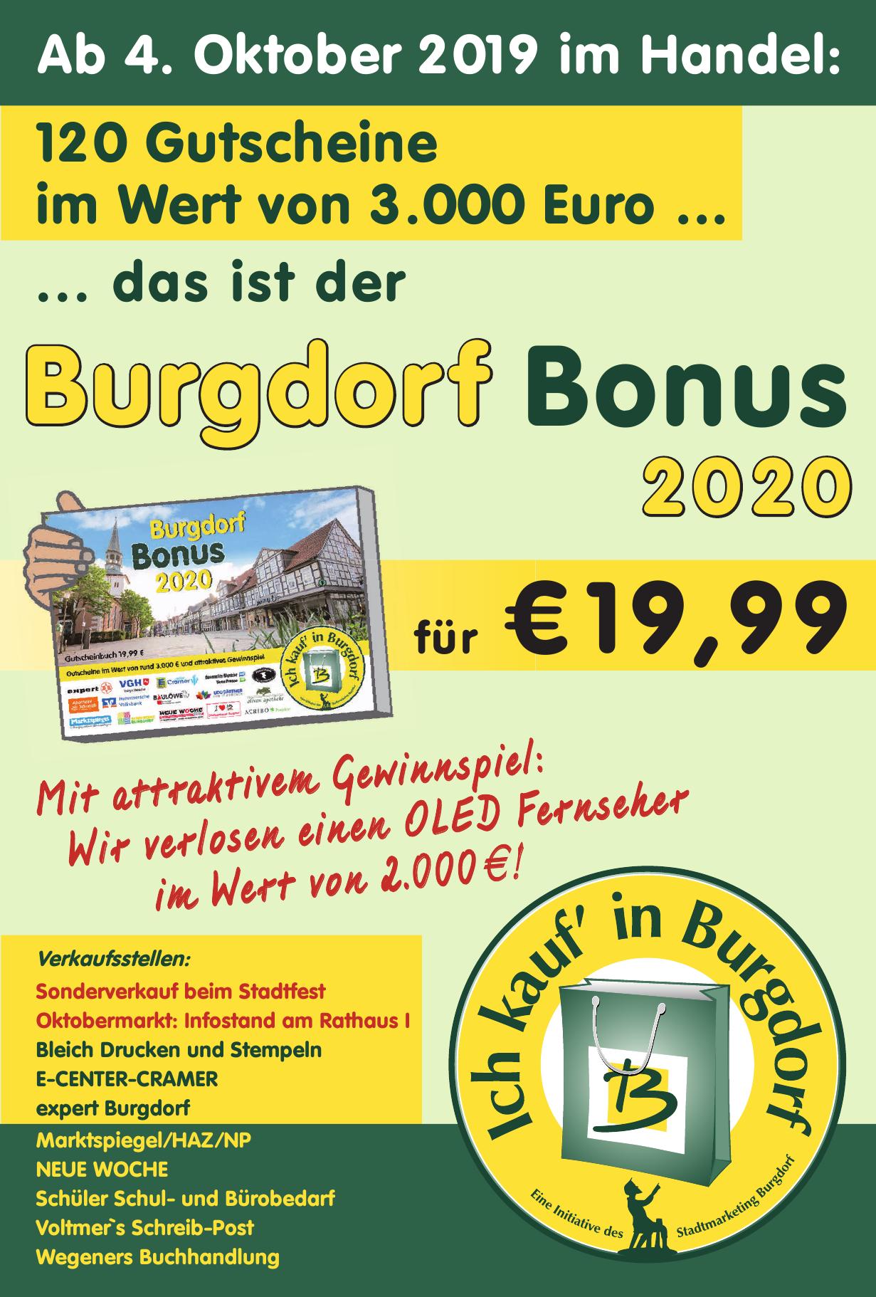 Burgdorf Bonus 2020