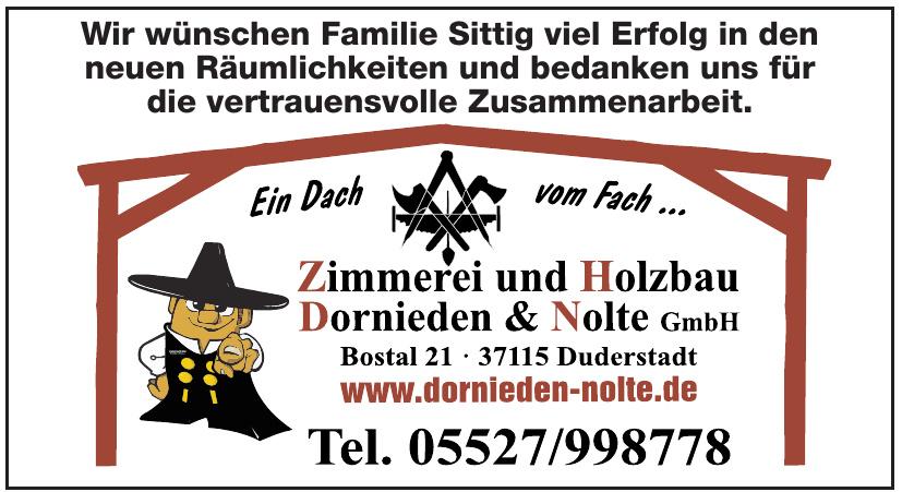 Zimmerei und Holzbau Dornieden & Nolte GmbH