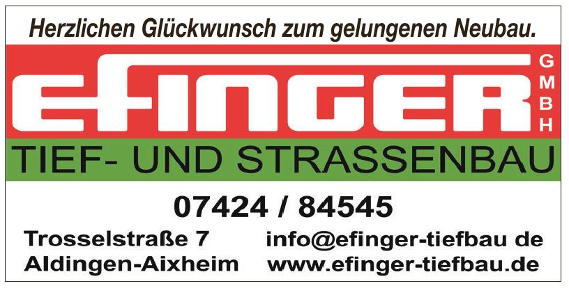 Efinger Gmbh Tief - und Straßenbau