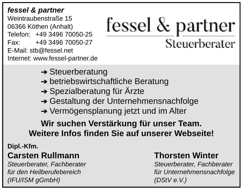 Fessel & Partner Steuerberarter