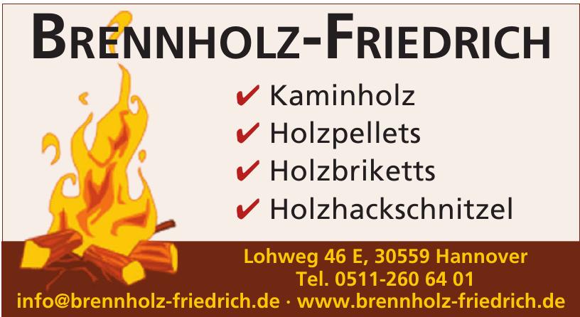 Brennholz-Friedrich