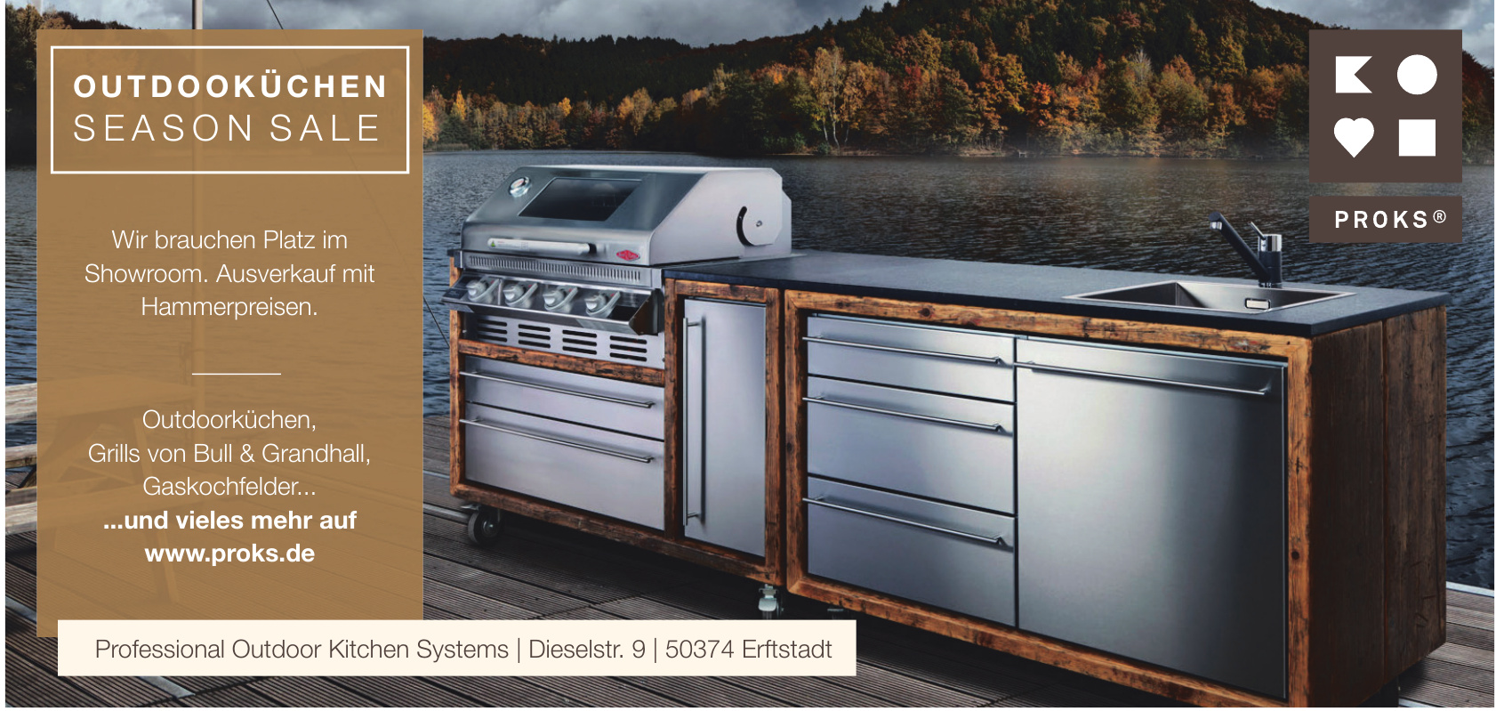 Proks Professional Outdoor Kitchen Systems