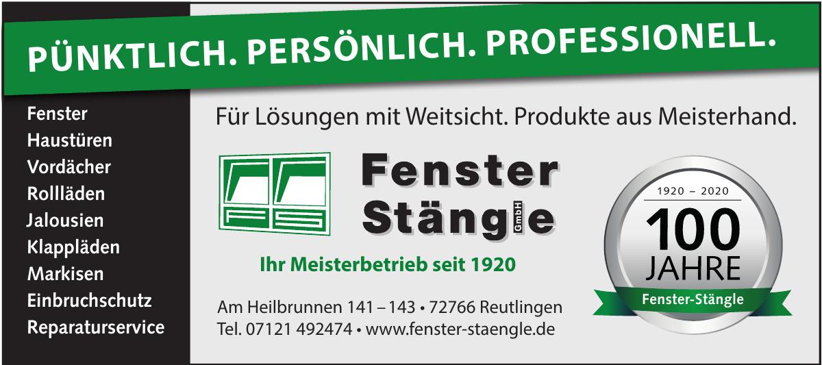 Fenster Stängle GmbH
