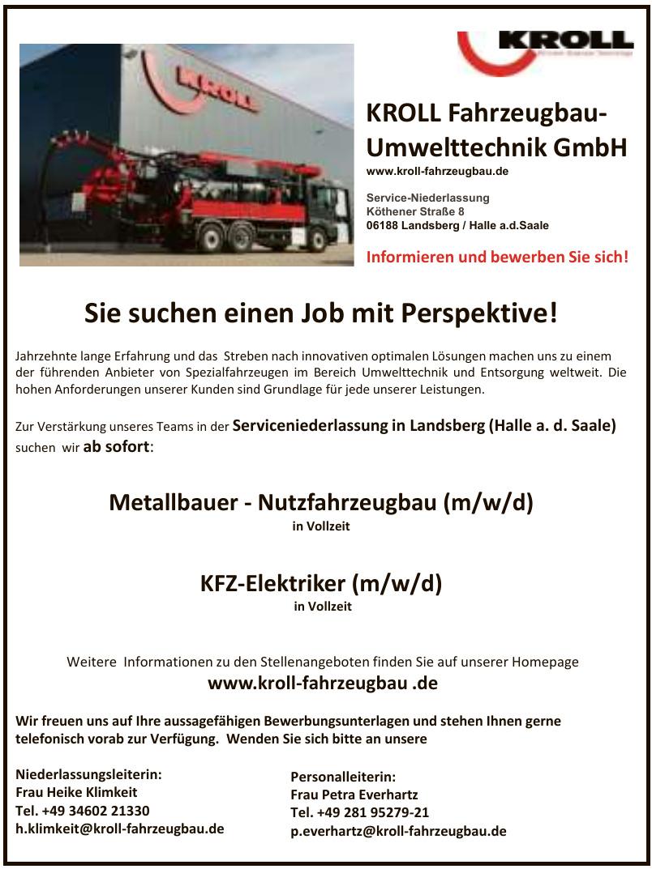 KROLL Fahrzeugbau - Umwelttechnik GmbH