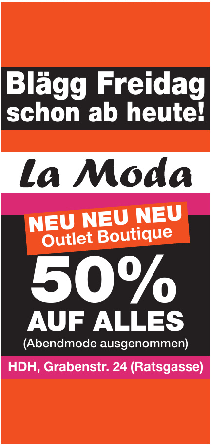 La Moda Outlet Boutique