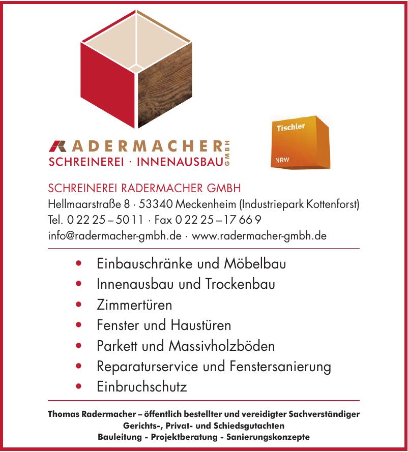 Schreinerei Radermacher GmbH