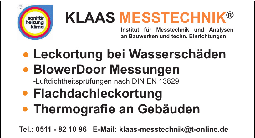 Klaas Messtechnik