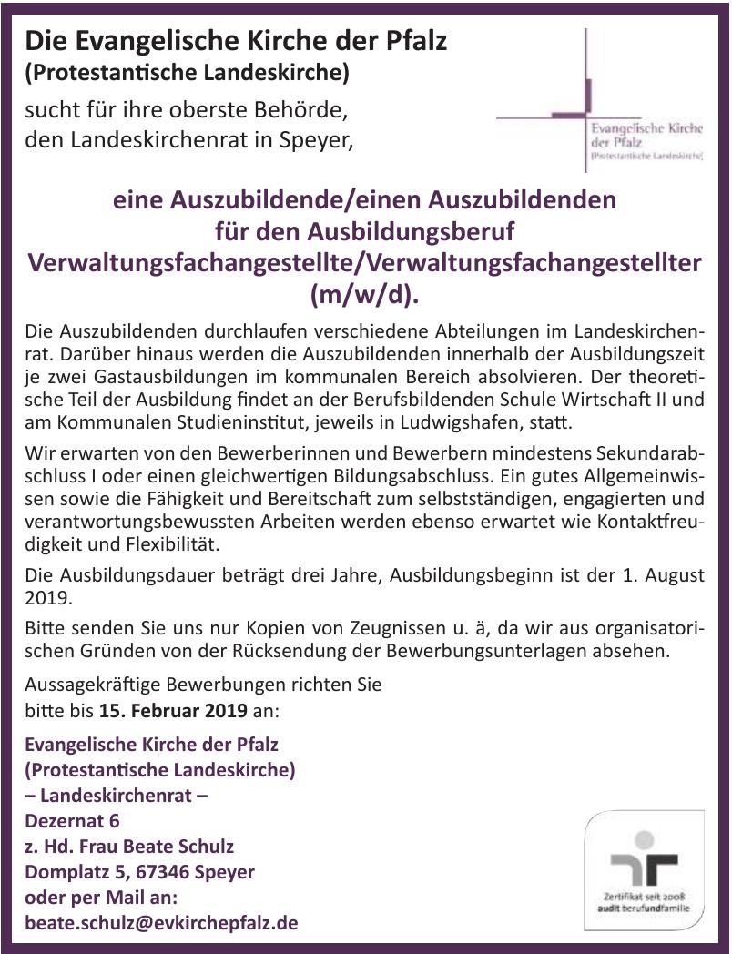 Die Evangelische Kirche der Pfalz