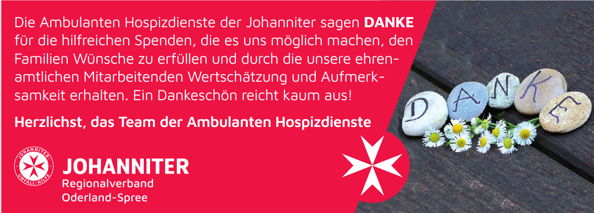 Johanniter Regionalverband Oderland-Spree