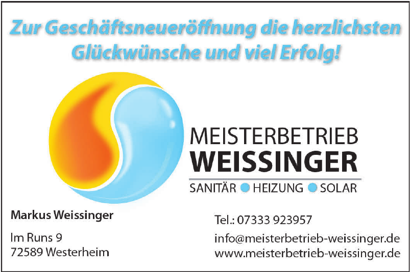 Meisterbetrieb Weissinger