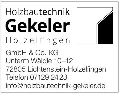 Gekeler GmbH & Co. KG