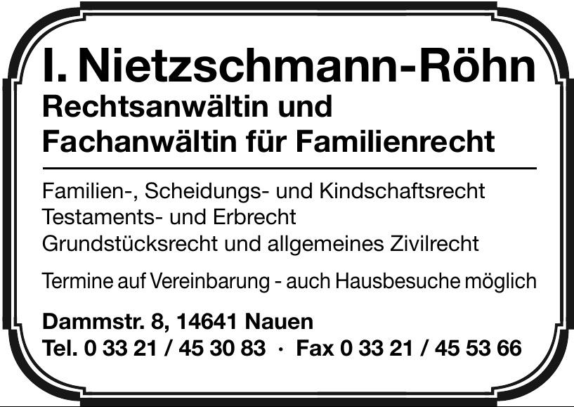 I. Neitzschmann-Röhn