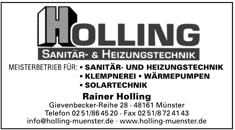 Holling Sanitär- & Heizungstechnik