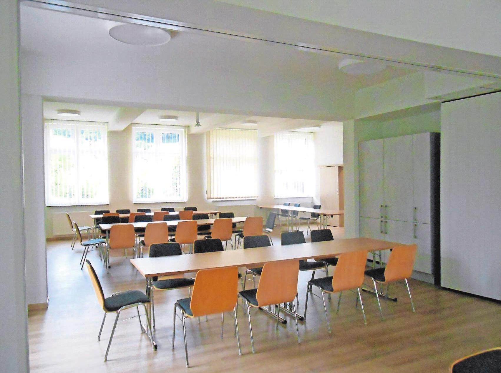 Nach dem Umbau steht die Alte Schule nun Familien und Vereinen zur Verfügung. Fotos: Gemeinde