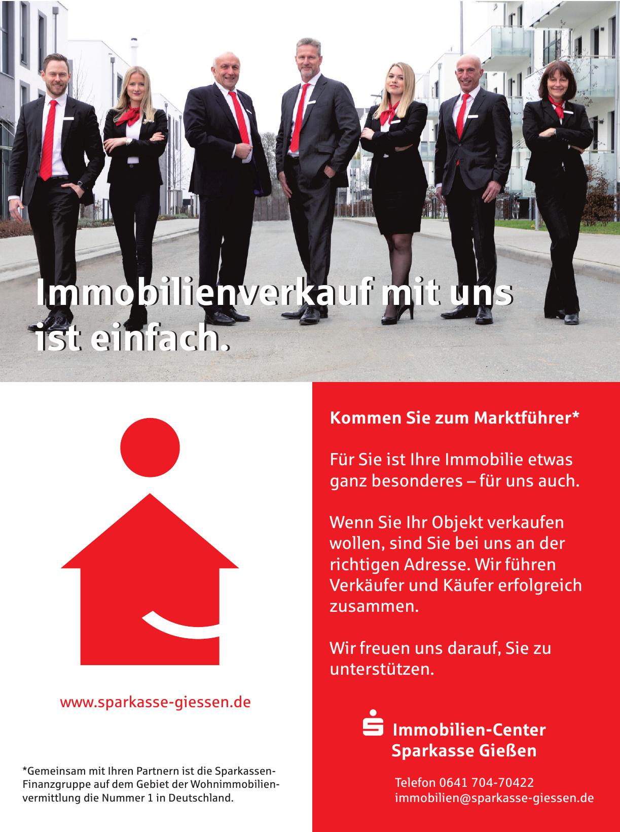 Immobilien-Center Sparkasse Gießen