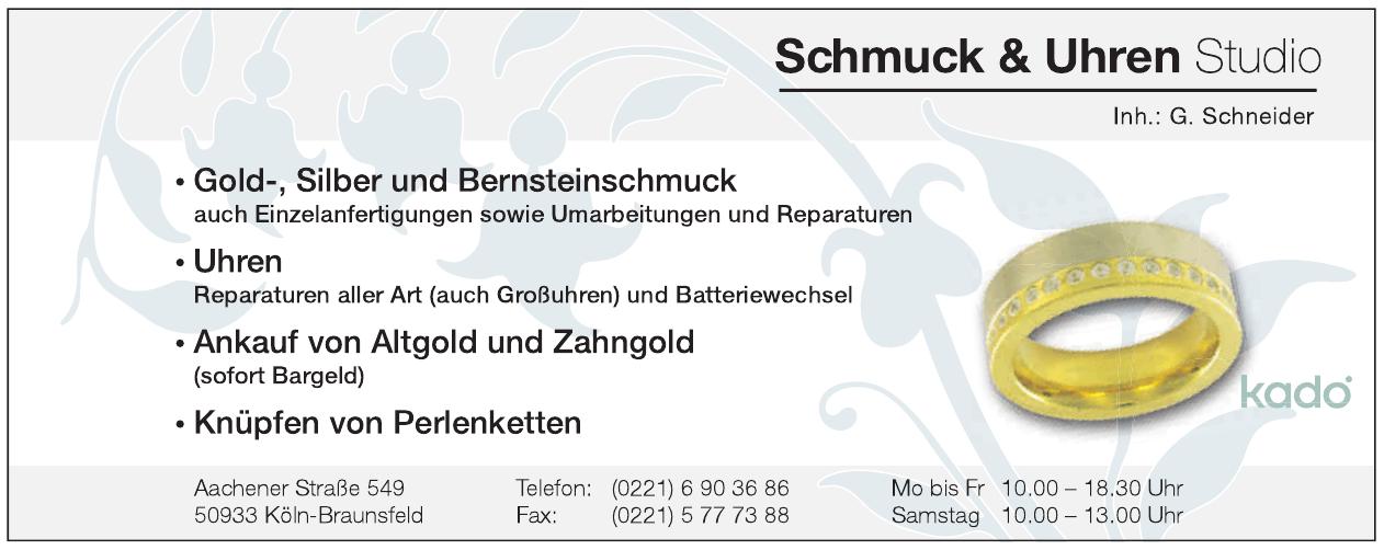 Schmuck & Uhren Studio