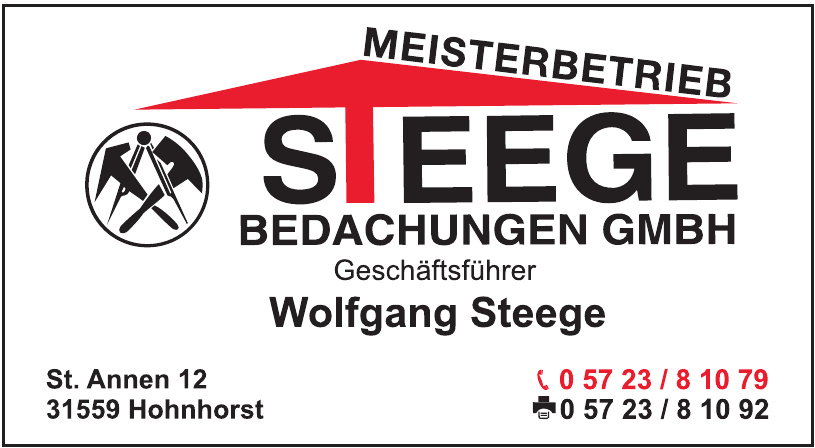 Meisterbetrieb Steege Bedachung GmbH