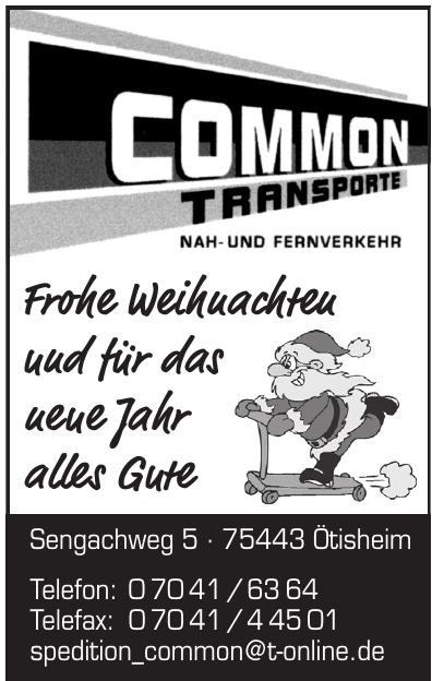 Common Transporte
