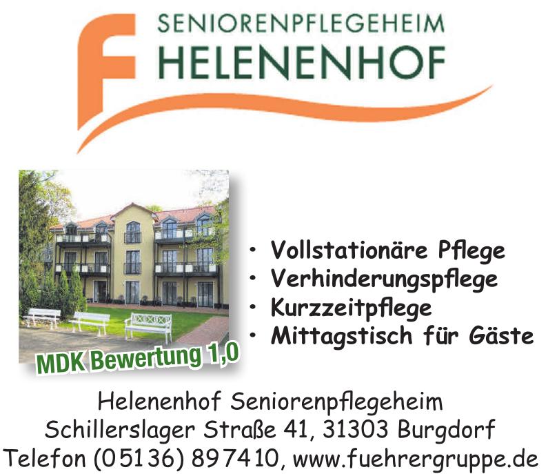 Helenenhof Seniorenpflegeheim