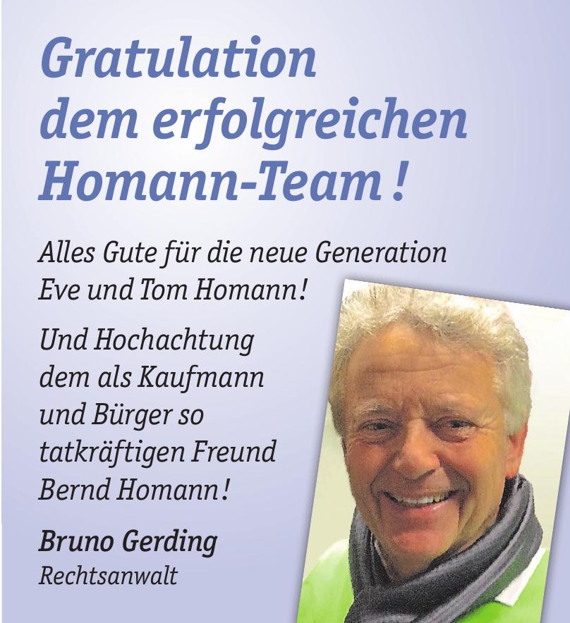 Bruno Gerding Rechtsanwalt