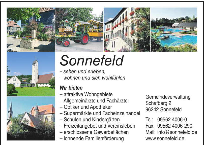 Gemeindeverwaltung Sonnefeld