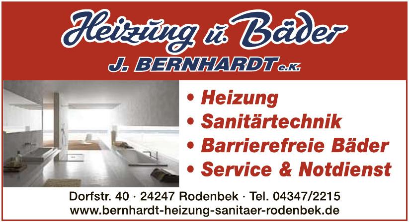 Heizung u. Bäder J. Bernhardt e.K.