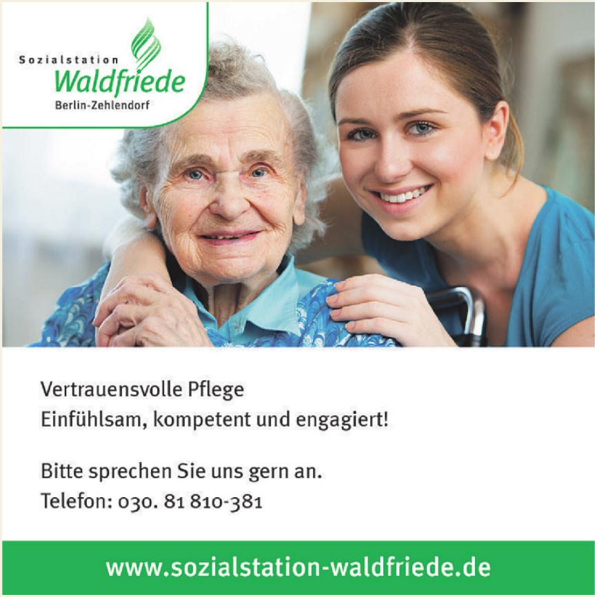 Sozialstation Waldfriede